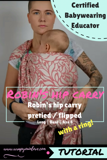 Robins hip carry with a ring (flipped / pretied ) Image