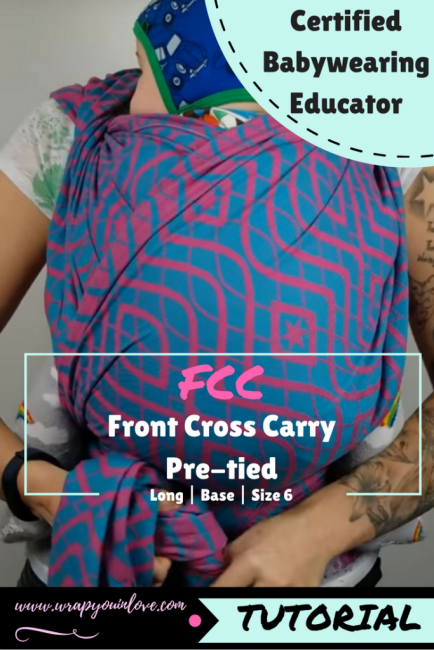 Front Cross Carry (FCC) pre-tied version Image